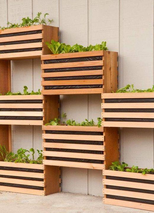 #VerticalGarden  Nice Space Saving Idea