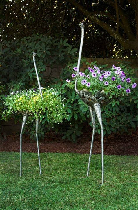 Creative Plant Holders Such a nice <3