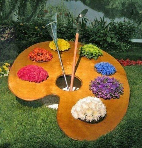 Great idea to make your garden attractive.