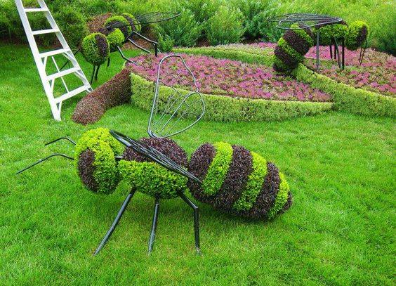 Sharpex Engineering,  gardening, sculpture, gardenart