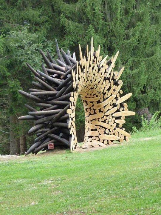 Wonderful Garden #Sculpture