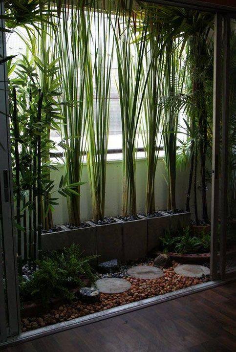 Balcony #Garden Design Idea..
