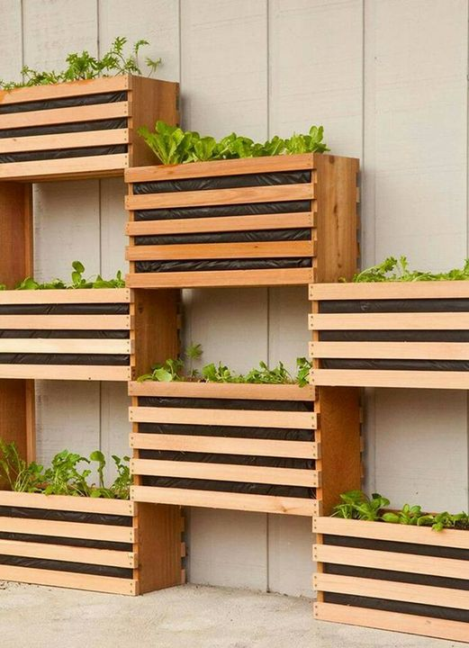 Nice #verticalGardening idea