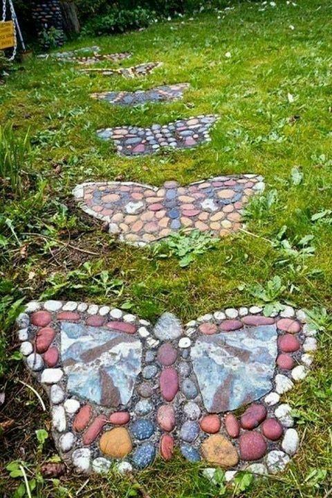 Stepping stones  #garden #gardening