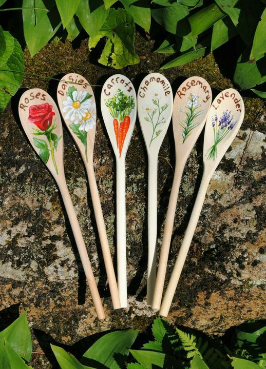 Cool #gardenmarker Nice idea