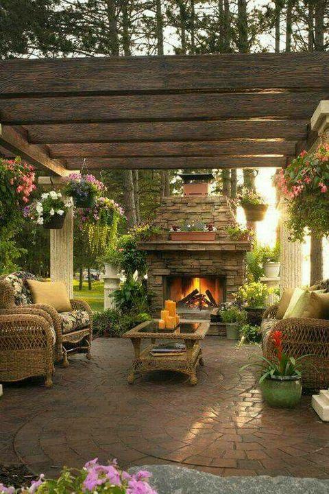 Nice backyard setup.!!  #garden #gardenig
