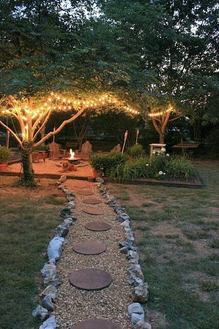 Nice idea to have #backyard like this