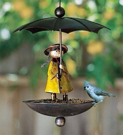 Bird Feeder  for #garden , looks cool.!!