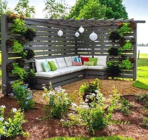 it will look fab in corner of backyard #garden