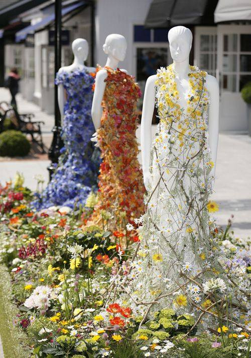 Beautiful #flower dresses