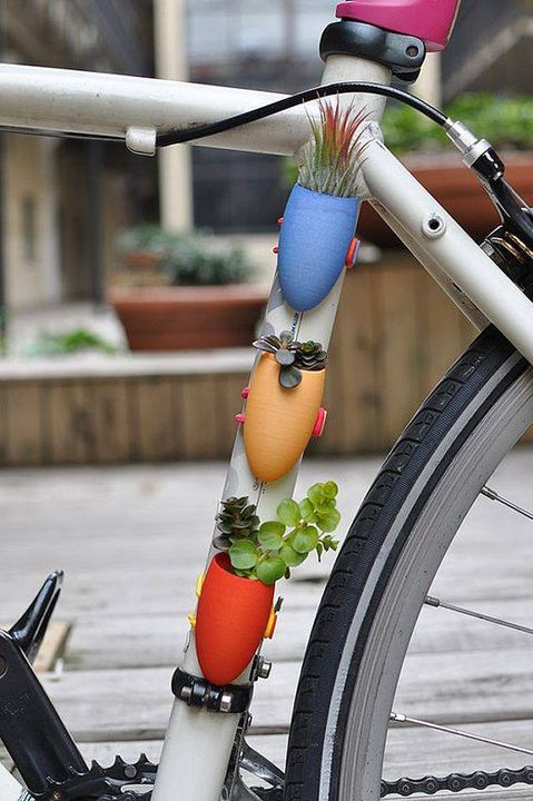 Take your mini #Garden with you everywhere.!! awesome idea !! <3