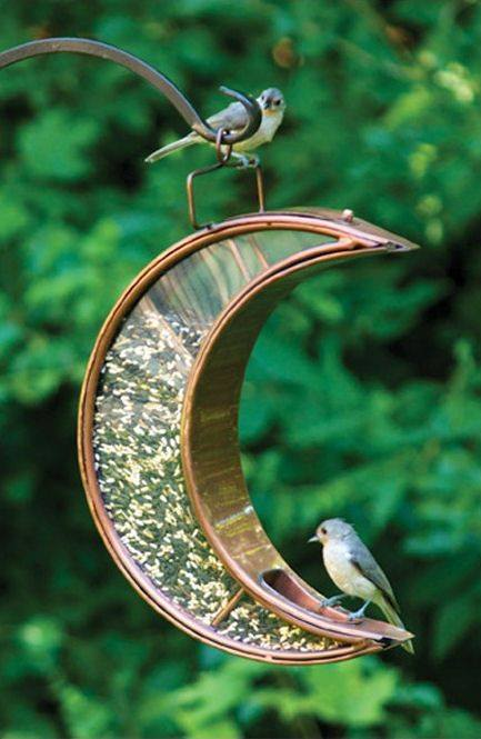 Cute BirdFeeder for sparrow.  everyone should have like this one in their garden or balcony to save and feed a sparrow.  #WorldSparrowDay