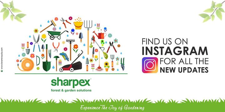 Find us on Instagram for all the new updates.  https://www.instagram.com/sharpexcommunity/ #Gardening #sharpexindia #garden #sharpex #forestgarden