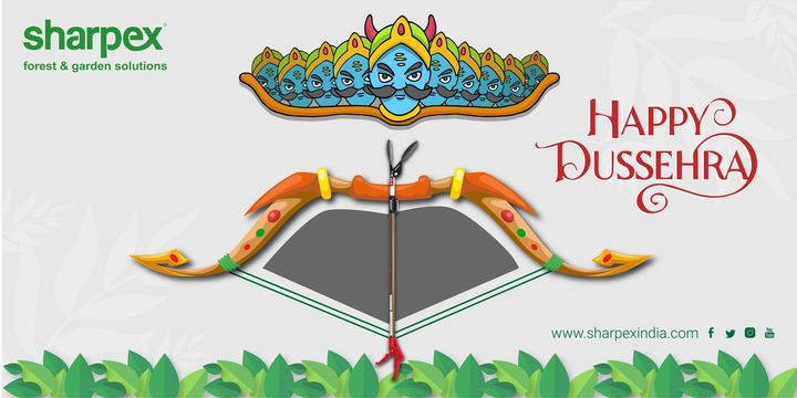 May this Dussehra, light up for you, the hopes of happy times, and dreams for a year full of smiles!  https://sharpexindia.com/  #Lawncare #Simplygardenspares #Selfpropelledlawnmower #gardenstorage #Growwithgarden #Lawnmowerrepairs #happydussehra #Dasara #dussehra