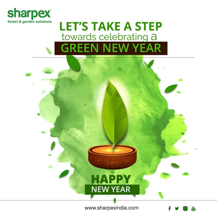 Let's take a step towards celebrating a Green New Year  Wish you a Happy New Year  https://sharpexindia.com/  #gardening #sharpexindia #sharpex #gardeningproducts #Lawncare #Simplygardenspares #Selfpropelledlawnmower #gardenstorage #Growwithgarden #flower #flowerpot #garden #festival #happy #Happiness #Newyear  Ahmedabad, India Gandhinagar, Gujarat Vadodara, Gujarat, India Surat, Gujarat Udaipur, Rajasthan Jaipur, Rajasthan