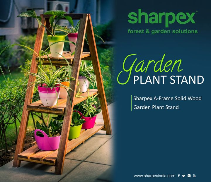 Sharpex A-Frame Solid Wood Garden Plant Stand  https://sharpexindia.com/  #gardening #sharpexindia #sharpex #gardeningproducts #Lawncare #Simplygardenspares #Selfpropelledlawnmower #gardenstorage #Growwithgarden #flower #flowerpot #garden #wooden #plant  Ahmedabad, India Gandhinagar, Gujarat Udaipur, Rajasthan Jaipur, Rajasthan