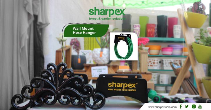 Sharpex Wall Mount Hose Hanger  https://sharpexindia.com/ https://bit.ly/2KIzquG https://bit.ly/2zwPZp3  #gardening #sharpexindia #sharpex #gardeningproducts #Lawncare #Simplygardenspares #Selfpropelledlawnmower #gardenstorage #Growwithgarden #flower #flowerpot #garden #Secateur #plants #gardenproduct