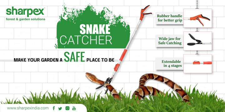 Make your garden a safe place to be Snake Catcher  https://sharpexindia.com/  #gardening #gardeningproducts #flower #flowerpot #garden #Secateur #plants #gardenproduct #snakecatcher #safegarden  Ahmedabad, India Vadodara, Gujarat, India Gandhinagar, Gujarat Gujarat