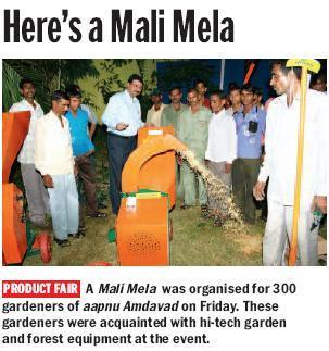 Sharpex Mali Mela featured in Ahmedabad Mirror!