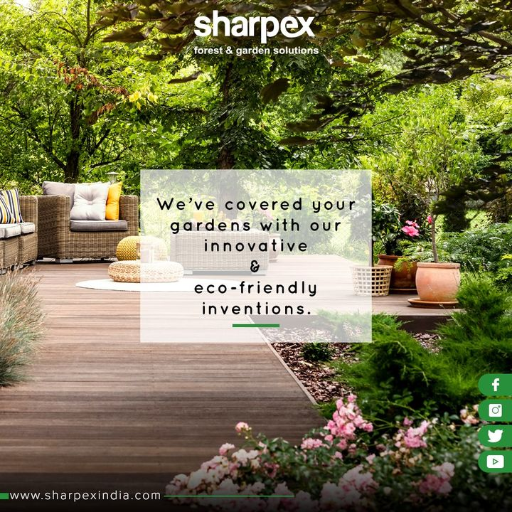 We've covered your gardens with modern gardening tools for the next generation.  #GardeningTools #ModernGardeningTools #GardeningProducts #GardenProduct #Sharpex #SharpexIndia