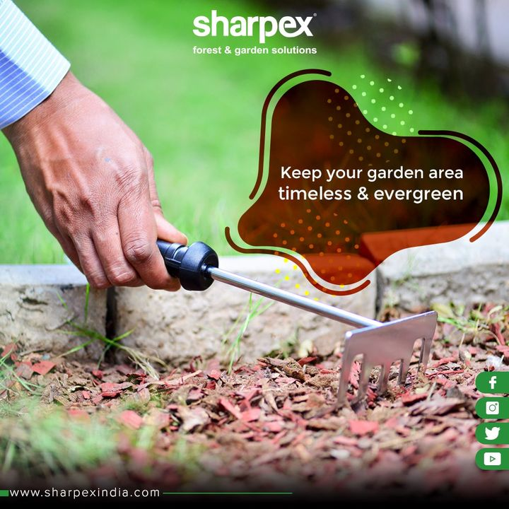 Keep your garden area timeless and evergreen  #SharpexIndia #GardeningTools #ModernGardeningTools #GardeningProducts #GardenProduct #Sharpex