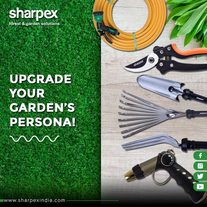 Fond of gardening? Upgrade the appearance of your garden with our eco-friendly & timeless tools!   #GardeningTools #ModernGardeningTools #GardeningProducts #GardenProduct #Sharpex #SharpexIndia