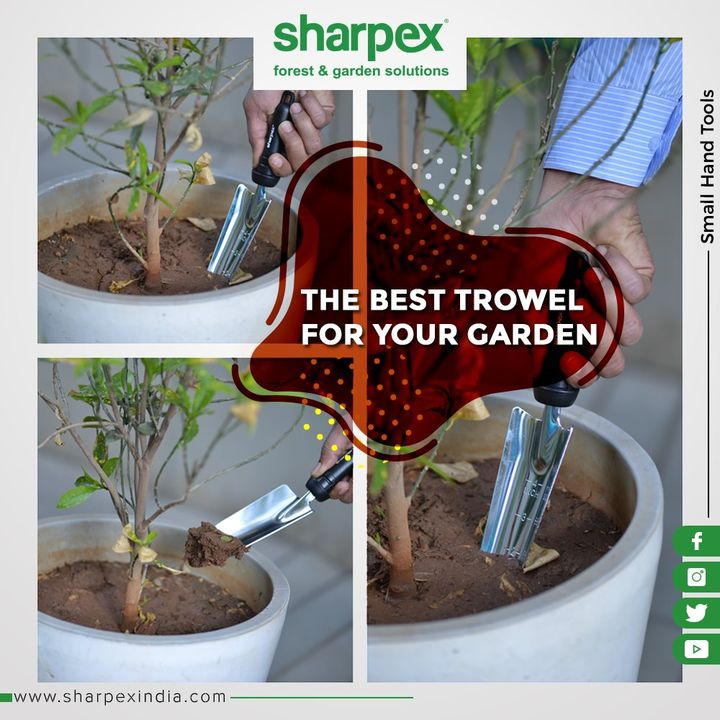 This will make your job way easy! Be it digging holes in dirt or moving soil, snow, or other loose materials, this precisely invented shovel is to make your work hassle-free!   #GardeningTools #ModernGardeningTools #GardeningProducts #GardenProduct #Sharpex #SharpexIndia