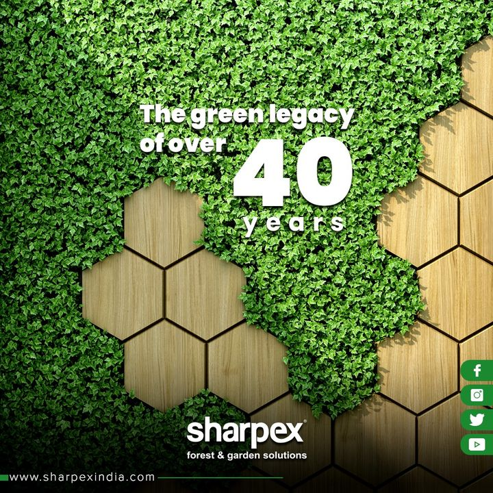 ::: An innovative legacy of 40 years::: It takes pride in conveying that we've been successfully ideating & executive steadfast & vigorous products since the time of our outset! . . . #GardeningTools #ModernGardeningTools #GardeningProducts #GardenProduct #Sharpex #SharpexIndia