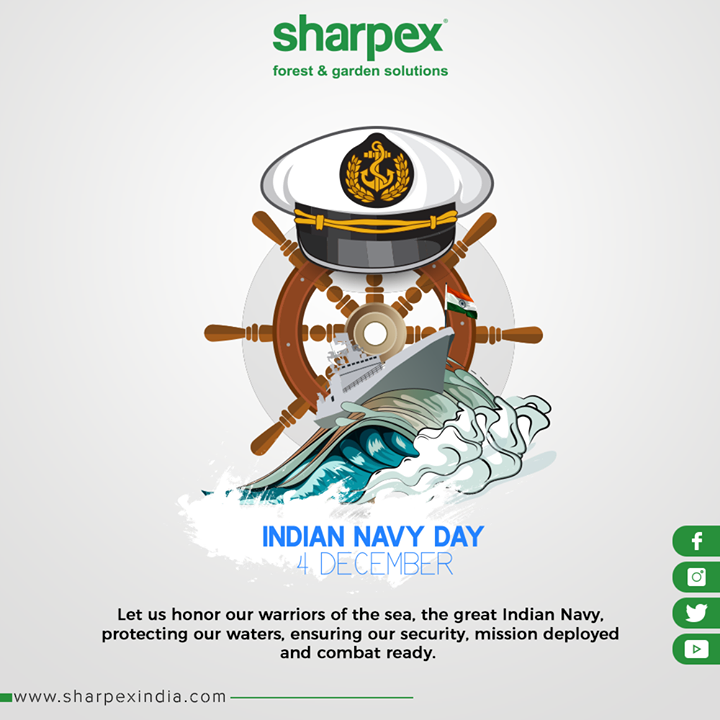 Let us honor our warriors of the sea, the great Indian Navy, protecting our waters, ensuring our security, mission deployed and combat ready.  #IndianNavyDay #GardeningTips #GardeningTools #ModernGardeningTools #GardeningProducts #GardenProduct #Sharpex #SharpexIndia