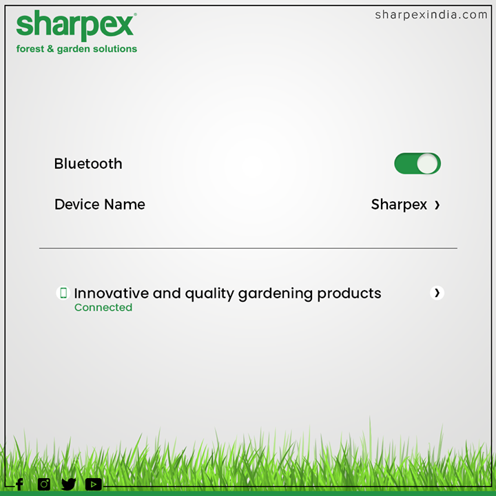 Stay connected to Sharpex for Innovative and quality gardening products  #ConnectedTo #Trending #TrendingPosts #GardeningTools #ModernGardeningTools #GardeningProducts #GardenProduct #Sharpex #SharpexIndia