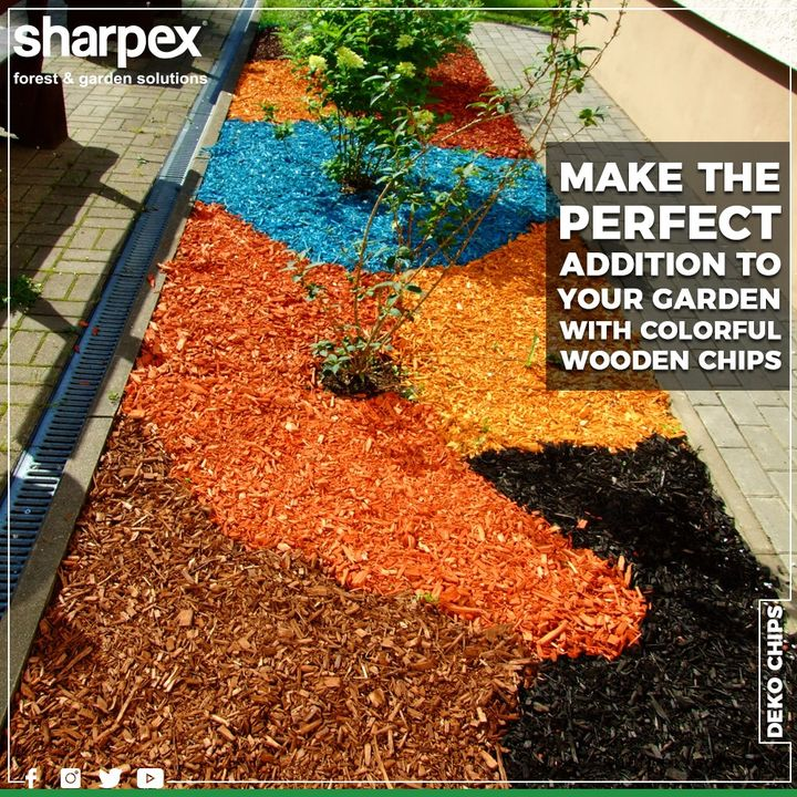 A perfect decorative for soil to covers and add the ultimate touch to container of the grown-up plants. It is natural and beneficial decorative material for creating attractive flower beds in garden areas and also for floor patio Decoration.  #GardeningTools #ModernGardeningTools #GardeningProducts #GardenProduct #Sharpex #SharpexIndia