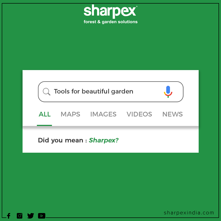 Sharpex is a market leader in the 'Electronic Lawn Mower' category in India and manufactures and supplies more than 135 specialized products designed for efficiency and performance.   #DidYouMean #TrendingFormat #TrendingNow #GardeningTools #ModernGardeningTools #GardeningProducts #GardenProduct #Sharpex #SharpexIndia