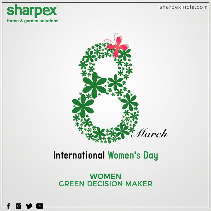 Women green decision maker  #WomensDay #women #WomensDay2020 #RespectWomen #EachforEqual #InternationalWomensDay #InternationalWomensDay2020 #GardeningTools #ModernGardeningTools #GardeningProducts #GardenProduct #Sharpex #SharpexIndia