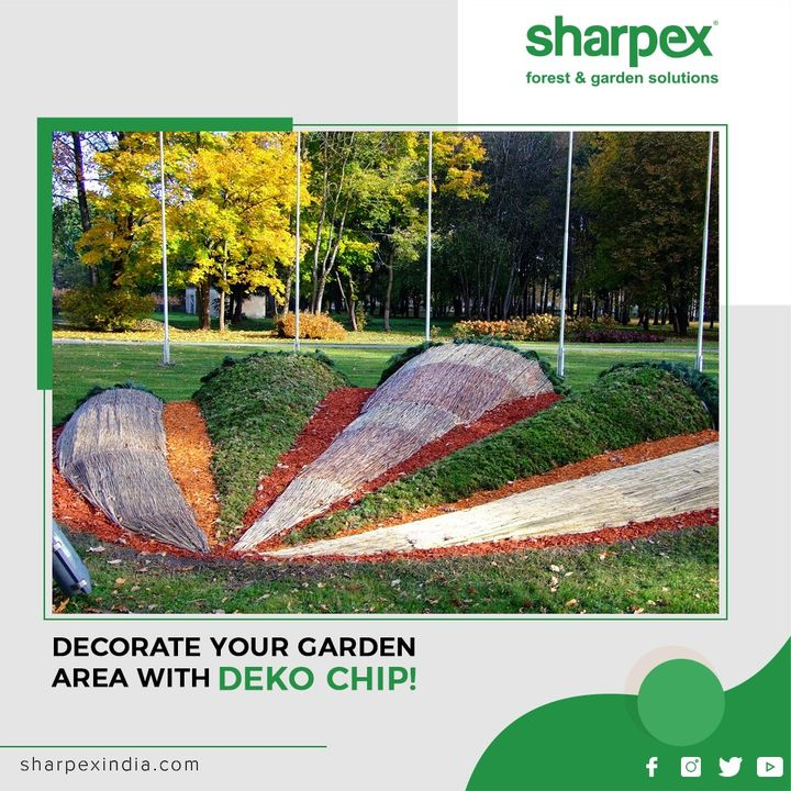 A perfect decorative for soil, to cover and add the ultimate touch to a container of the grown-up plants.  #DekoChips #GardeningTools #ModernGardeningTools #GardeningProducts #GardenProduct #Sharpex #SharpexIndia