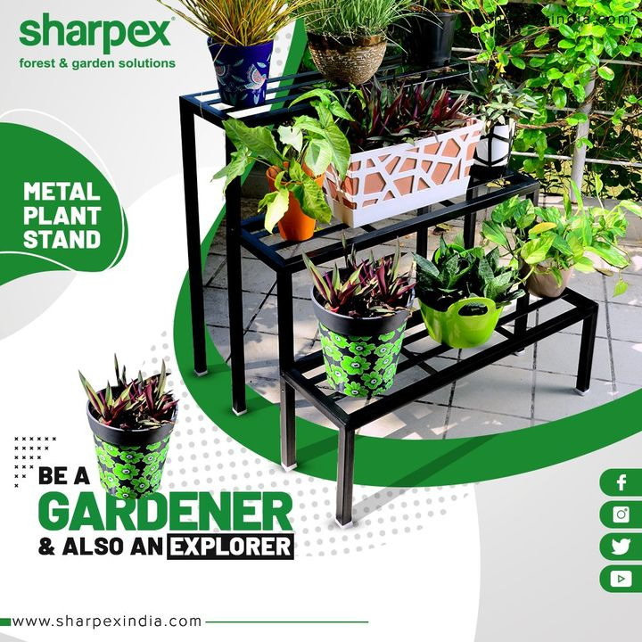 Your garden, no matter its size is an outdoor classroom waiting to be explored.  Be a gardener and also an explorer with Sharpex Gardening Community.  #GardeningTools #ModernGardeningTools #GardeningProducts #GardenProduct #SharpexIndia