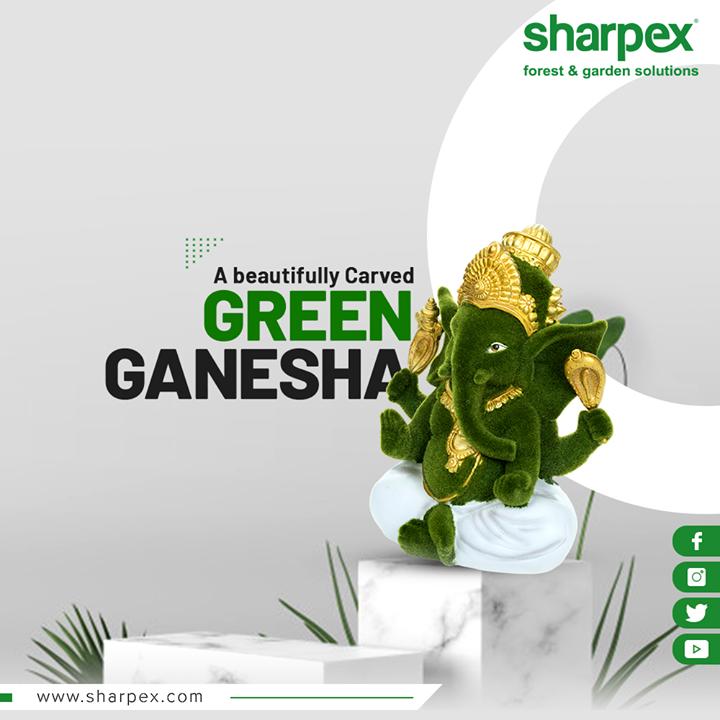 Sharpex Engineering,  gloriousganpati, BeatifulSculptures, Sculptures, GardeningTools, ModernGardeningTools, GardeningProducts, GardenProduct, Sharpex, SharpexIndia