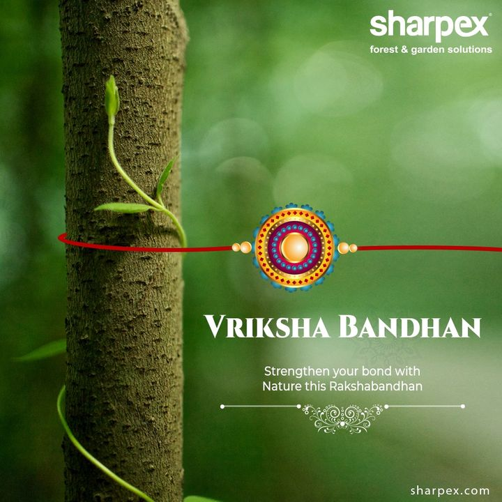 Strengthen your bond with nature this Rakshabandhan.  #Rakshabandhan2020 #Rakhi2020 #Rakhi #Rakshabandhan #HappyRakshabandhan #IndianFestivals #Celebrations #Festivities #GardeningTools #ModernGardeningTools #GardeningProducts #GardenProduct #Sharpex #sharpexindia