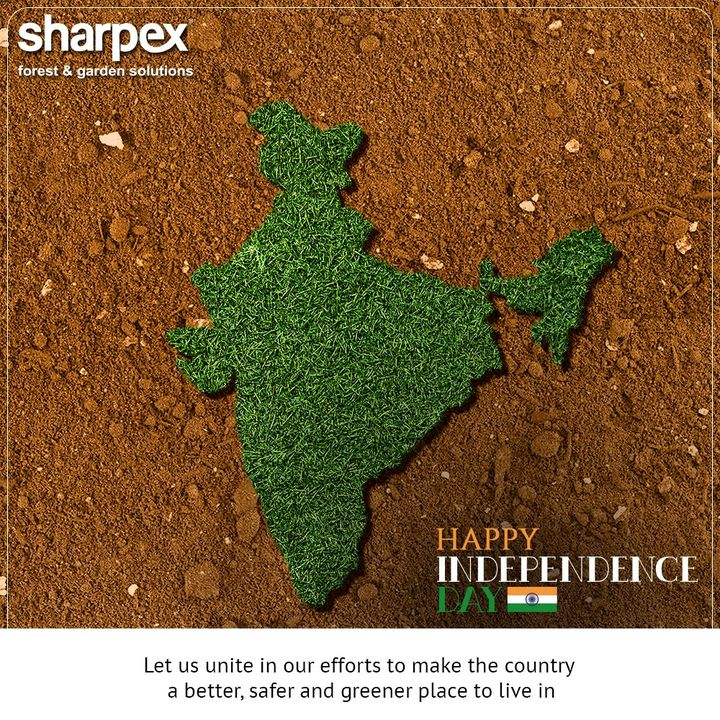 Let us unite in our efforts to make the country a better, safer and greener place to live in  #IndependenceDay #JaiHind #IndependencedayIndia #HappyIndependenceDay #IndependenceDay2020 #ProudtobeIndian #GardeningTips #GardeningTools #ModernGardeningTools #GardeningProducts #GardenProduct #Sharpex #SharpexIndia