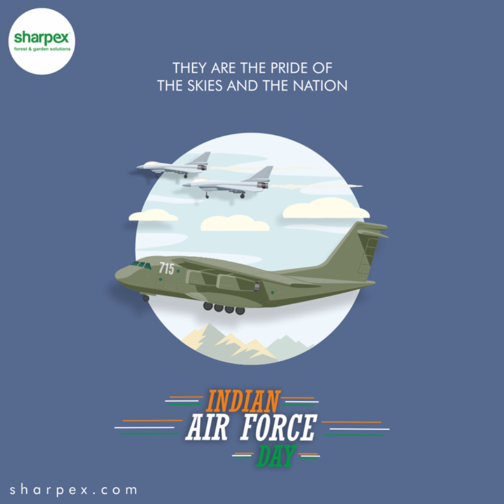 Sharpex Engineering,  IndianAirForce, IndianAirForceDay, 88IAF, IAF, 8thOct, GardeningTools, ModernGardeningTools, GardeningProducts, GardenProduct, Sharpex, SharpexIndia