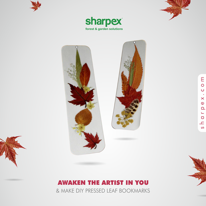 Sharpex Engineering,  PracticalAndPretty, DIYCraft, NatureLovers, LeafPressedBookmark, ModernGardeningTools, GardeningProducts, GardenProduct, Sharpex, SharpexIndia