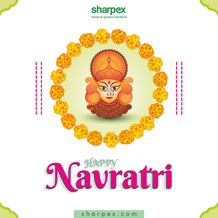 May you be anchored to signify the innermost power of consciousness & add a nature-friendly touch to the festivities!  #HappyNavratri #Navratri2020 #NavratriWishes #ShubhNavratri #Navratri #ModernGardeningTools #GardeningProducts #GardenProduct #Sharpex #SharpexIndia