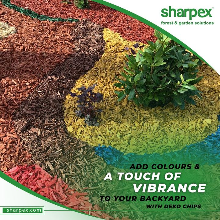 There are no gardening mistakes, only experiments.   On the season of Christmas add colours & a touch of vibrance to your backyard with Deko Chips.  #DekoChips #GardeningTools #ModernGardeningTools #GardeningProducts #GardenProduct #Sharpex #SharpexIndia