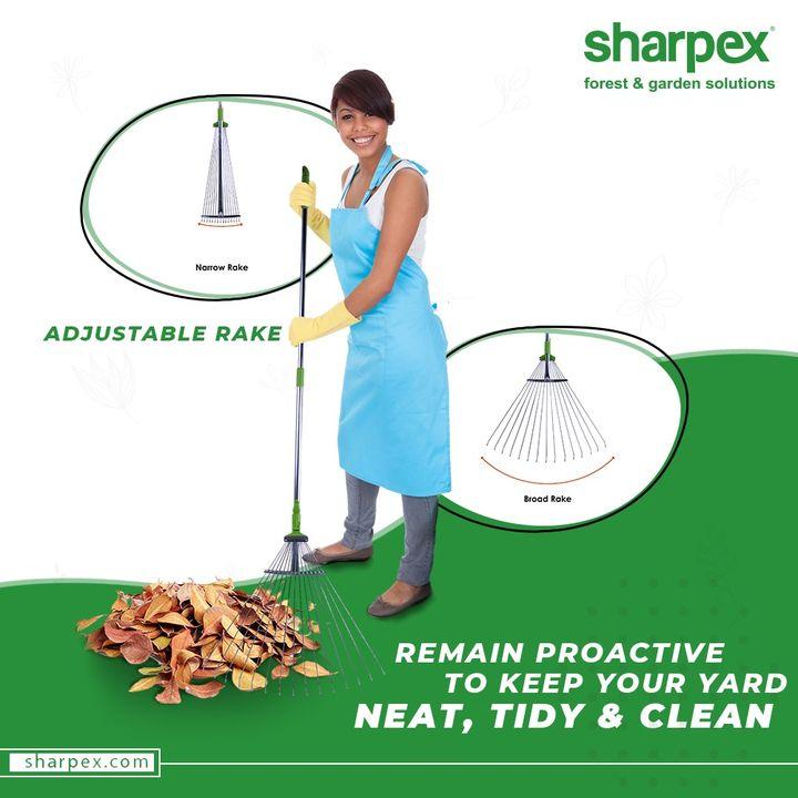 Sharpex Engineering,  AdjustableRake, GardeningTools, ModernGardeningTools, GardeningProducts, GardenProduct, Sharpex, SharpexIndia