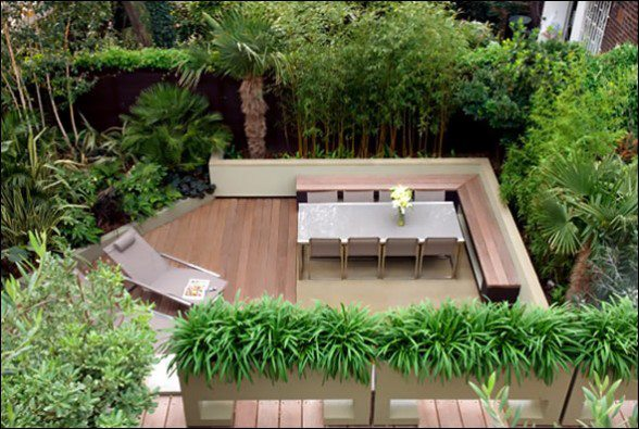 Ever imagined having a rooftop like this, and enjoying your evening tea stretching lazily among lush greenery?