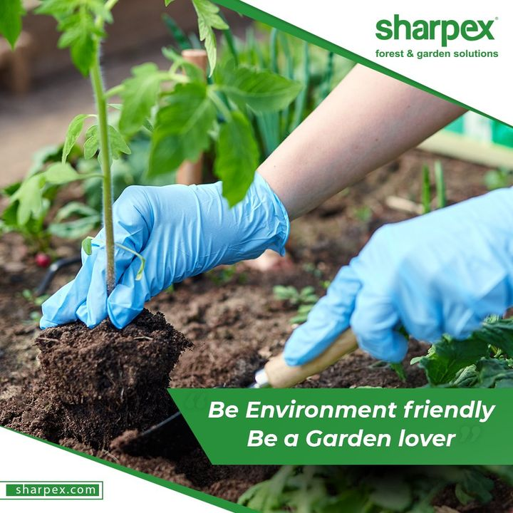 It is amazing to be a gardener but it is also important to remain environment friendly.   Be a gardener; be environment friendly. Pledge to take care of a few things while taking your love for gardening notches higher:    -Go organic & avoid using plastic  - Say yes to composting  - Say no to wastage of water  #GardenersPledge #BeAGardener #GardenLovers #GardeningAccessories #GardeningTools #ModernGardeningTools #GardeningProducts #GardenProduct #Sharpex #SharpexIndia