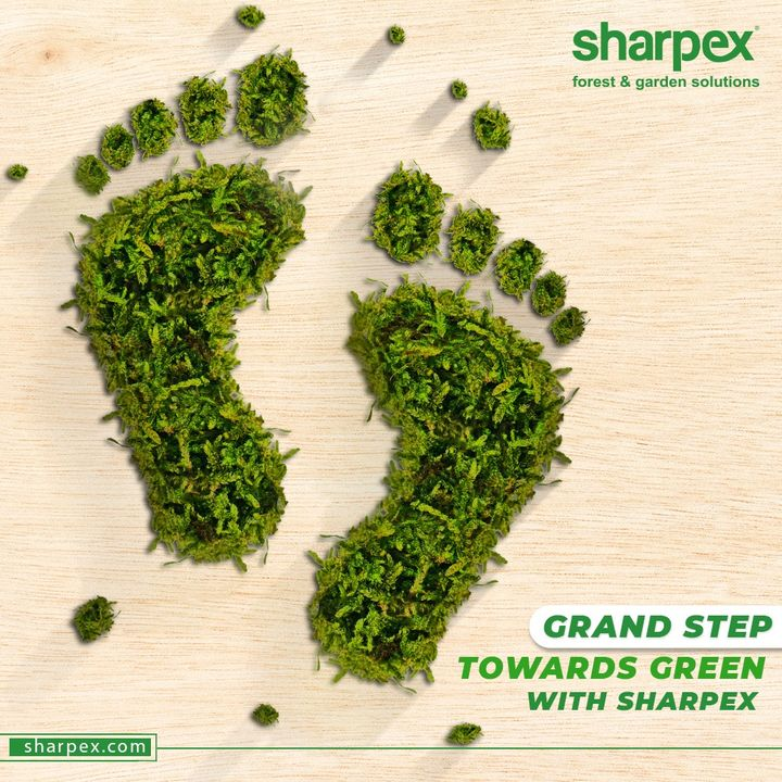 The bounties of greenery are seventeen to a dozen on the contrary there are no side-effects of greenery.  Pledge to plant for the planet and take the grand step towards greenery, sustainable growth and sustainable development with Sharpex Gardening Community.  #GardeningAccessories #GardeningTools #ModernGardeningTools #GardeningProducts #GardenProduct #Sharpex #SharpexIndia