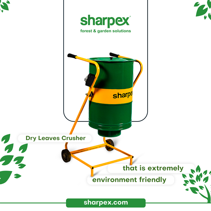 Are you still looking for some reasons to be convinced to purchase the best quality of Dry Leaves Crusher from Sharpex Gardening & Community?  The product is extremely environment friendly and can be used for crushing dry leaves & converting them  into compost fertilizers.  #LoveForGreen #LoveForGreenery #GoGreen #GreenFebruary #GardenersByPassion #GardeningAccessories #GardeningTools #ModernGardeningTools #GardeningProducts #GardenProducts #Sharpex #SharpexIndia