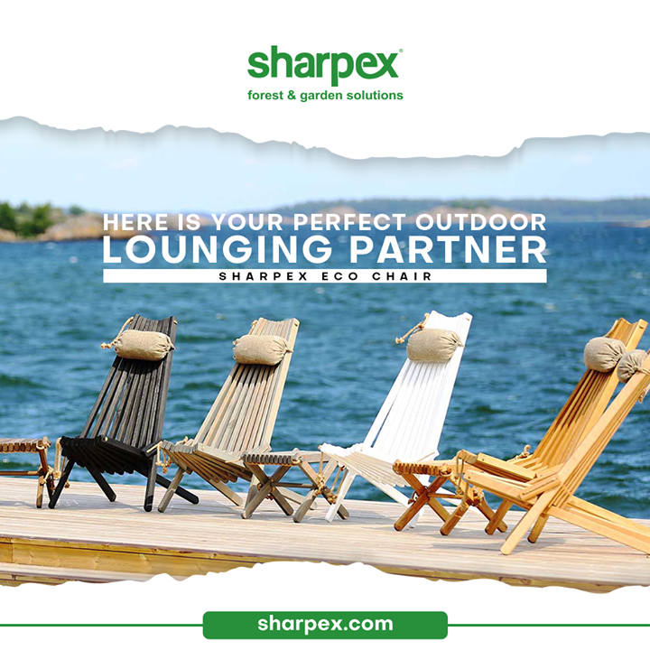 The outdoor lovers like you deserve to get the perfect outdoor lounging partners like these!   Take a look and get inspired to bring home the #EcoChair from #SharpexGardeningAndCommunity.  #EcoChair #GardeningAccessories #GardeningTools #ModernGardeningTools #GardeningProducts #GardenProducts #Sharpex #SharpexIndia