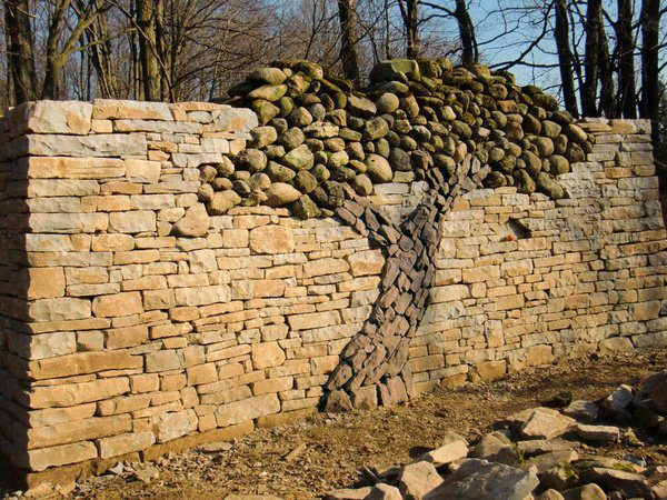 stone wall for your garden..