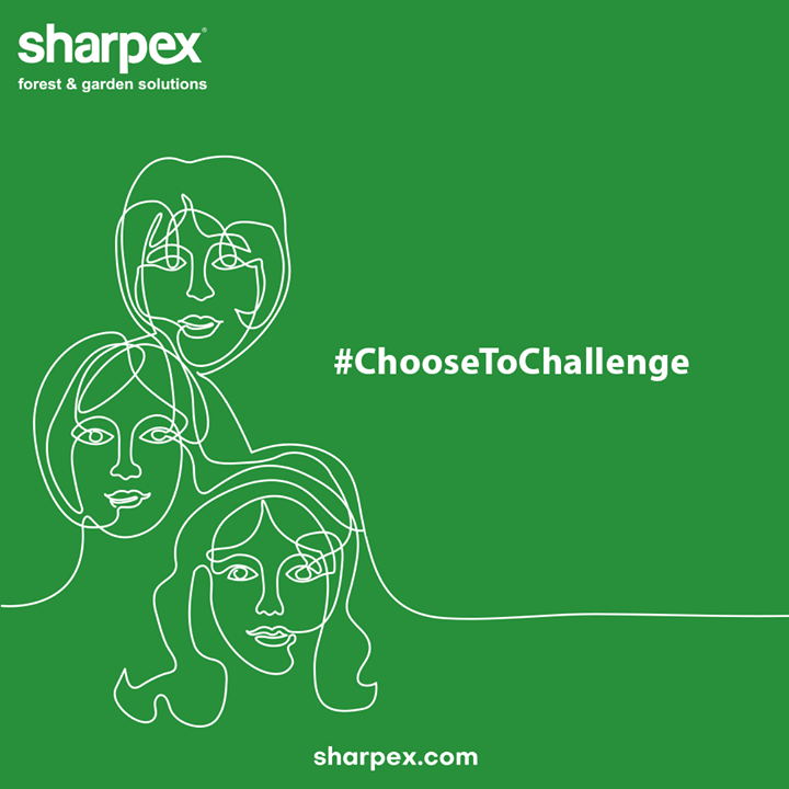 Women are the epitome of courage, hope, and life.  Stronger Women build Stronger Nations!  #InternationalWomensDay #InternationalWomensDay2021 #HappyWomensDay #WomenEmpowerment #WomenDay2021 #ChooseToChallenge #GardeningAccessories #GardeningTools #ModernGardeningTools #GardeningProducts #GardenProducts #Sharpex #SharpexIndia